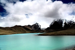 Gurudongmar Lake, India