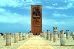 Башня Хасана, Марокко