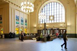 Центральный вокзал Хельсинки, Финляндия
