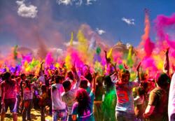 El Festival Holi, India