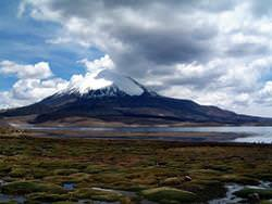 Вулкан Уайнапутина, Перу