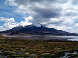 Huaynaputina Vulkan, Peru