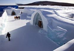 Ice hotel, Schweden
