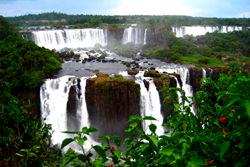 Iguazu Wasserfälle, Argentinien - Brasilien