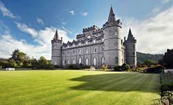 Замок Инверерей, Шотландия