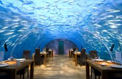 Ithaa Unterwasserrestaurant, Malediven