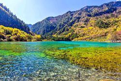 Долина девяти деревень Цзючжайгоу, Китай