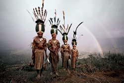 Племя Калам, Индонезия - Папуа-Новая Гвинея