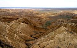 Karagije-Senke, Kasachstan