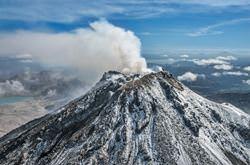 Karymshin Volcano, Russia