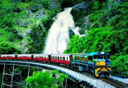 Kuranda Scenic Railway Eisenbahn, Australien