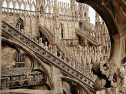 Ladder Duomo, Italy