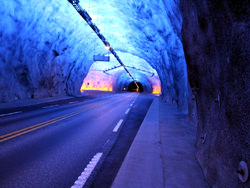 Laerdal Tunnel, Norwegen