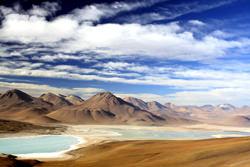 Laguna-Blanca und Laguna Verde Seen, Bolivien