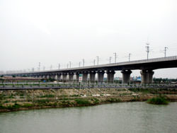 Langfang–Qingxian viaduct, China