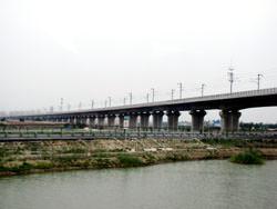 Viaducto de Langfang-Qingxian, China