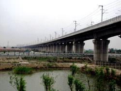 Langfang–Qingxian viaduct, China