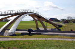 Leonardo Da Vinci Bridge, Norway