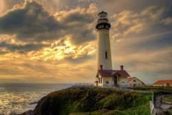 Lighthouse Neyst Point, Scotland