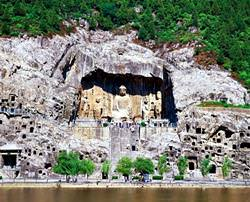 Longmen Grottoes Temple, China