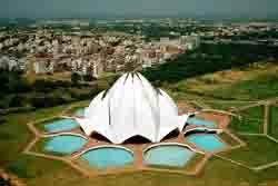 Lotustempel, Indien
