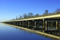 Atchafalaya Swamp Brücke