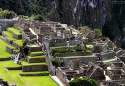 Руины древнего города Мачу-Пикчу, Перу