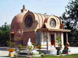 Mahaparinirvana und Parinirvana Stupa Tempel, Indien