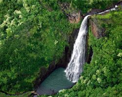 Manawaiopuna Wasserfall