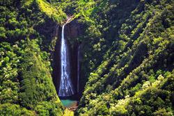 Manawaiopuna Wasserfall, Hawaii