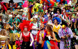 Фестиваль Марди Гра в Новом Орлеане, США