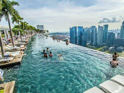 Marina Bay Sands Pool, Singapore