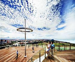 Marina Sky Park, Singapur