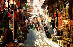 Medina von Marrakesch, Morocco