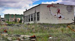 Шахтерский поселок Кадыкчан