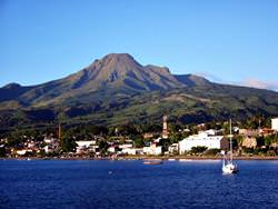 Vulkan Mount Pelee