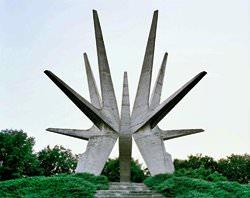 Памятник Космайскому партизанскому отряду