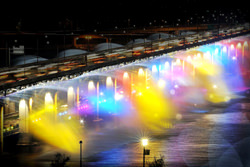 Moonlight Rainbow Fountain, South Korea