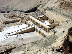 Храм царицы Хатшепсуп, Египет