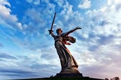 Motherland Calls Sculpture, Russia