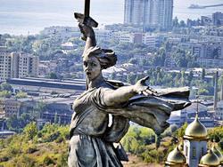 Motherland Calls Sculpture, Russia