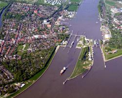 Кильский канал , Nord-Ostsee-Kanal, Германия
