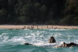 North Sentinel Island, Indien