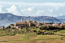 Old Town of Pienza, Italy