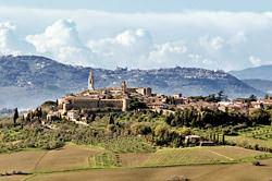 Casco Antiguo de Pienza, Italia
