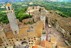 Old Town of San Gimignano, Italy