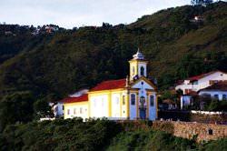 Ouro Preto Stadt, Brasilien