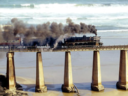 Перегон Outeniqua Choo-Tjoe Train, South Africa
