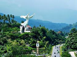 Statue of Christ Blessing, Indonesia