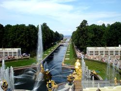 Peterhof Brunnen